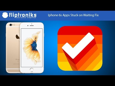iphone apps waiting iphone 6s apps stuck on waiting fix fliptroniks 8147