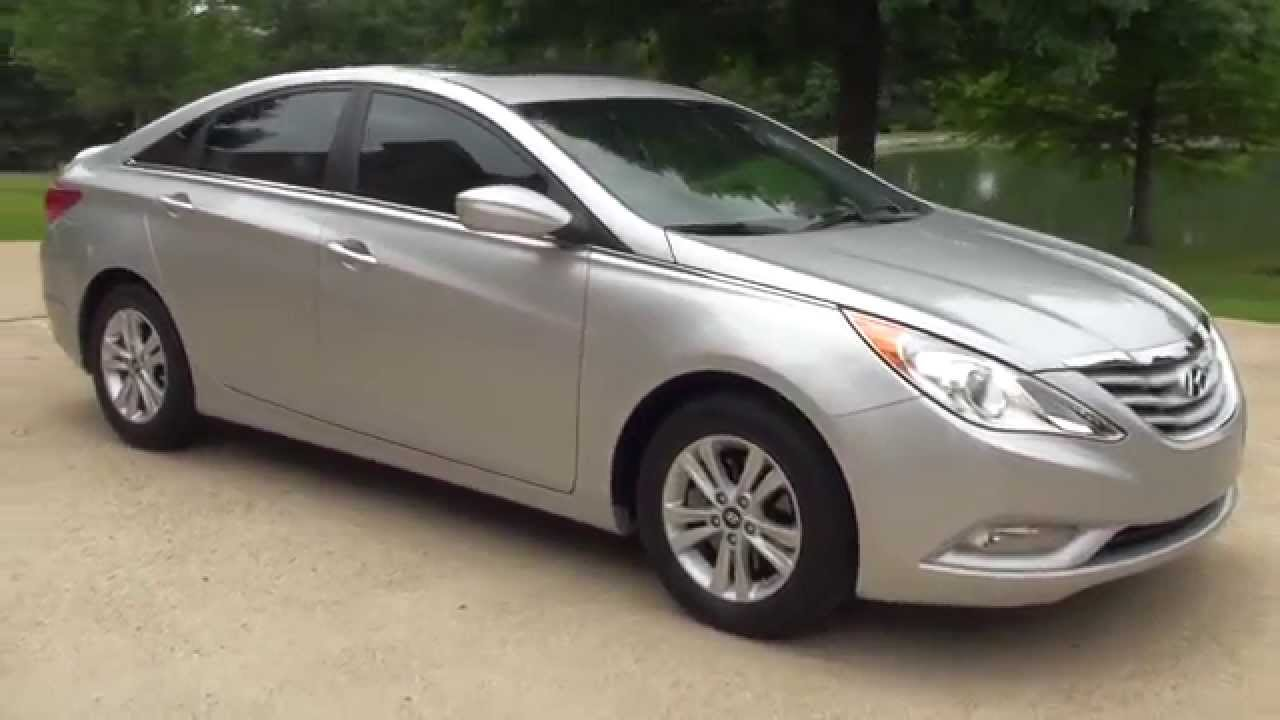hd video 2013 hyundai sonata gls silver used for sale see. Black Bedroom Furniture Sets. Home Design Ideas
