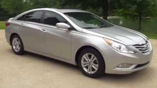 Hd Video 2013 Hyundai Sonata Gls Silver Used For Sale See Www Sunsetmotors Com