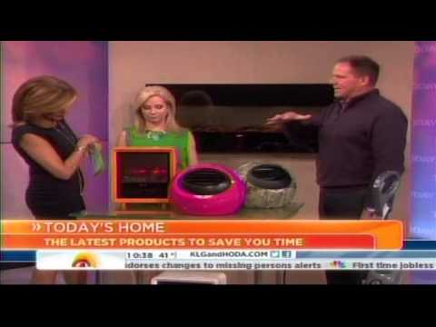 NBC-TV Today Features Crane's NEW Fireplace Heater: March 8, 2013