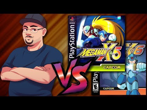 Johnny Vs. Mega Man X5 & X6
