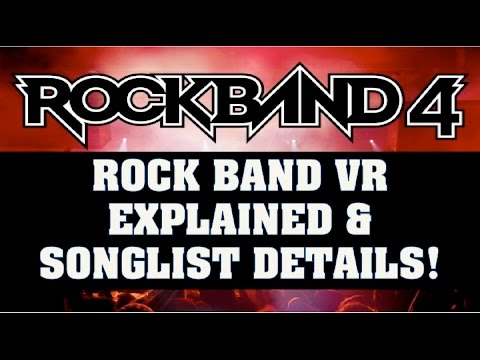 Rock Band VR News: Gameplay Modes Revealed