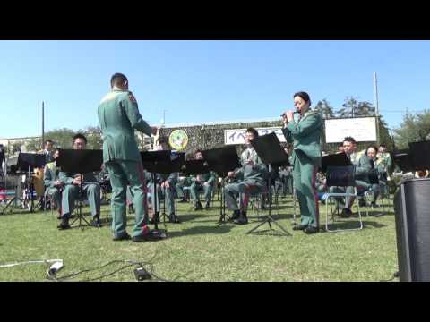 Ue o Muite Arukō (Sukiyaki) in Swing - Japanese Army Band