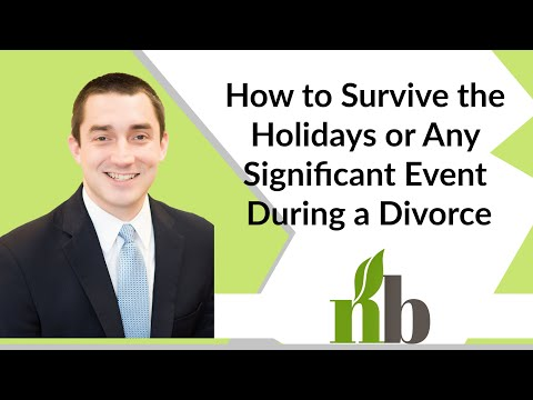 How to Survive the Holidays or Any Significant Event During a Divorce | Athens Contested Divorce