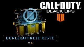 NEU Duplikatfreie Kisten in Black Ops 4 - BO4 Kisten Update Deutsch