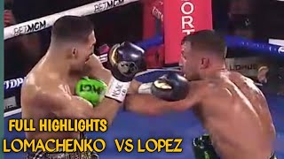 Loma vs Lopez |full highlights hd|Grabe ang bakbakan