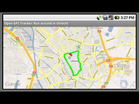 Android - Open GPS Tracker - Second Demo - YouTube