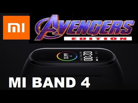It's COOL | Mi BAND 4 | AVENGERS Special Edition《OFFICIAL VIDEO》 小米手环4 | 复仇者联盟 预告[OFFICIAL VIDEO]