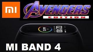 Mi band 4 avengers