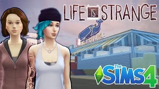 The Sims 4: Life Is Strange - Two Whales Diner | Speed Build + Download