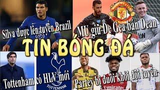 Tin Bóng Đá - Tin Thể Thao - 10/06/2021: MU giữ De Gea bán Henderson,Dortmund ra hạn chót bán Sancho