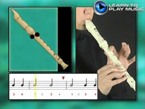 how to play the recorder book