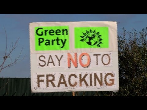 Protests as UK begins drilling first fracking well