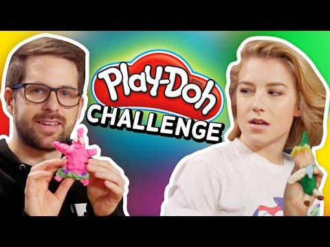 PLAY DOH CHALLENGE RETURNS (Squad Vlogs)