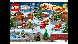 LEGO City Advent Calender 2016 #60133 speed unboxing and build
