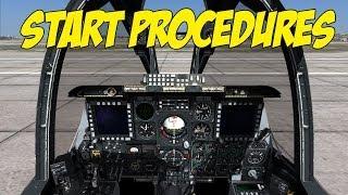 DCS World - A-10C Start Procedures