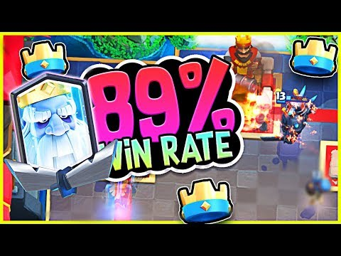 THIS 89% WIN RATE deck is CRAZY! :: CLASH ROYALE