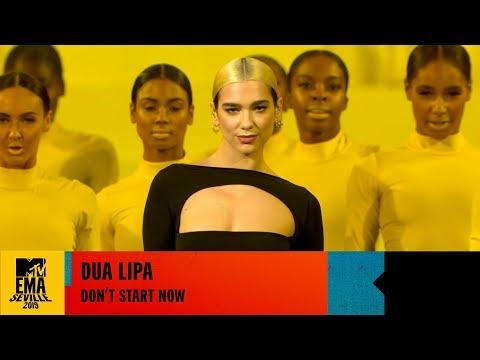 Dua Lipa - Don't Start Now - LIVE At The 2019 MTV EMAs