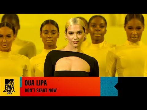 Dua Lipa - Don't Start Now - LIVE at the 2019 MTV EMAs