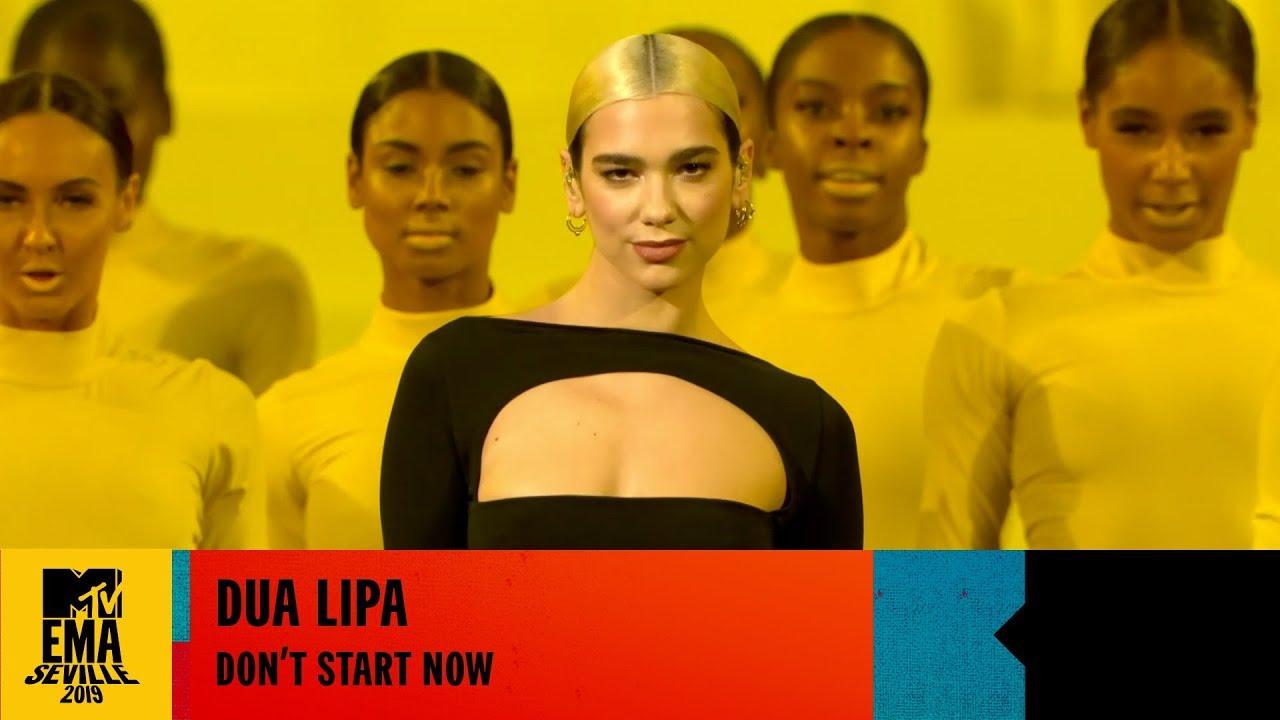 Dua Lipa — Don't Start Now — LIVE at the 2019 MTV EMAs
