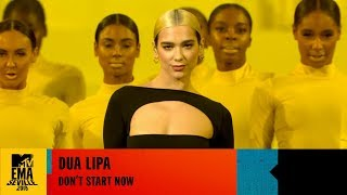 Gambar cover Dua Lipa - Don't Start Now - LIVE at the 2019 MTV EMAs