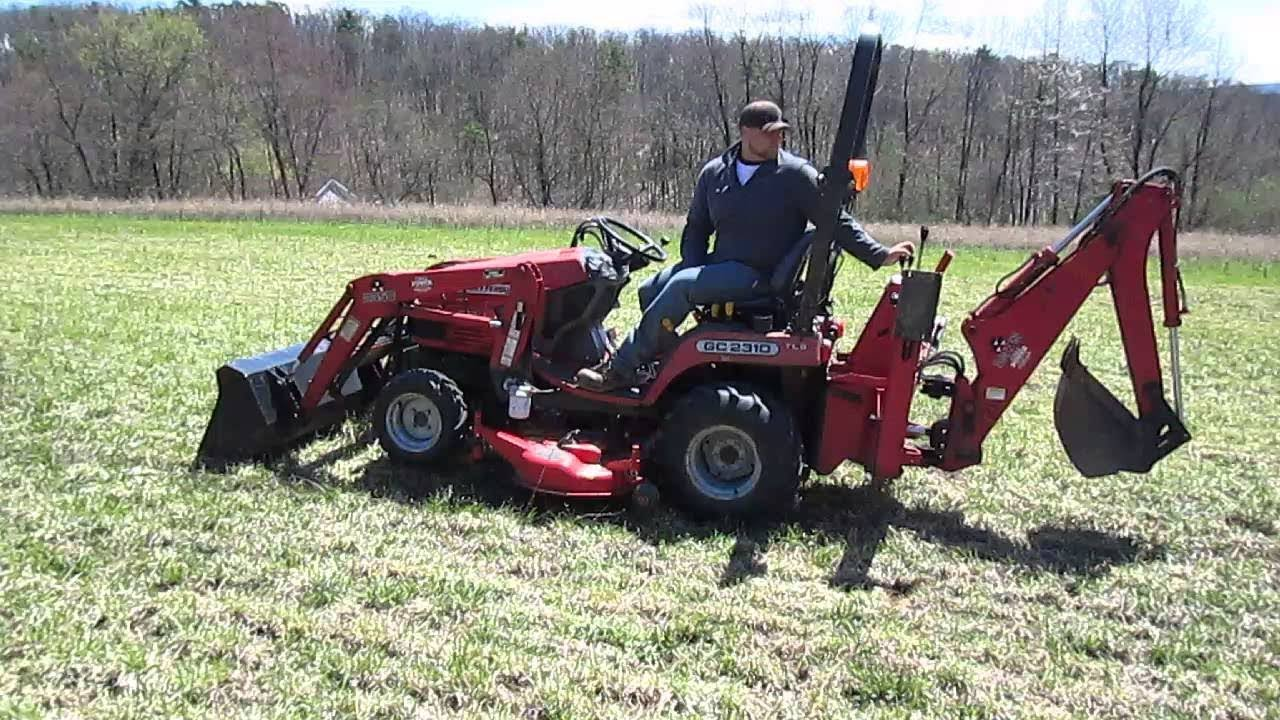 Massey Ferguson GC1720 Sub Compact Tractor Price specifications Features |  Review