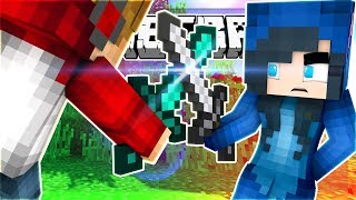 SCARED FOR OUR LIVES!!! WE CAN'T KILL THEM! MINECRAFT BEDWARS!