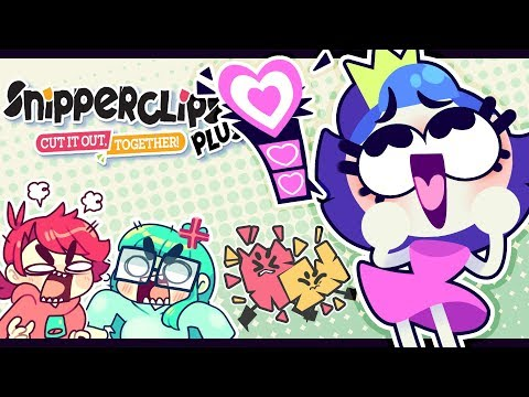 💗💗💖THE PRINCESS / Snipperclips Plus / Jaltoid Games