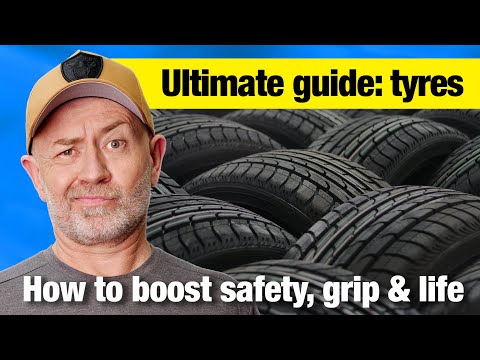 The complete guide to owning tyres (boost safety, performance & life) | Auto Expert John Cadogan