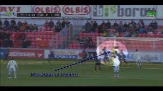 Análisis Gol Sissokó saque de esquina. SD Huesca 1 - RCD Mallorca 2. Liga Adelante 15/16