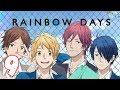 RAINBOW DAYS | 9. Bölüm - Romantizm & Okul Konulu Türkçe Anime izle