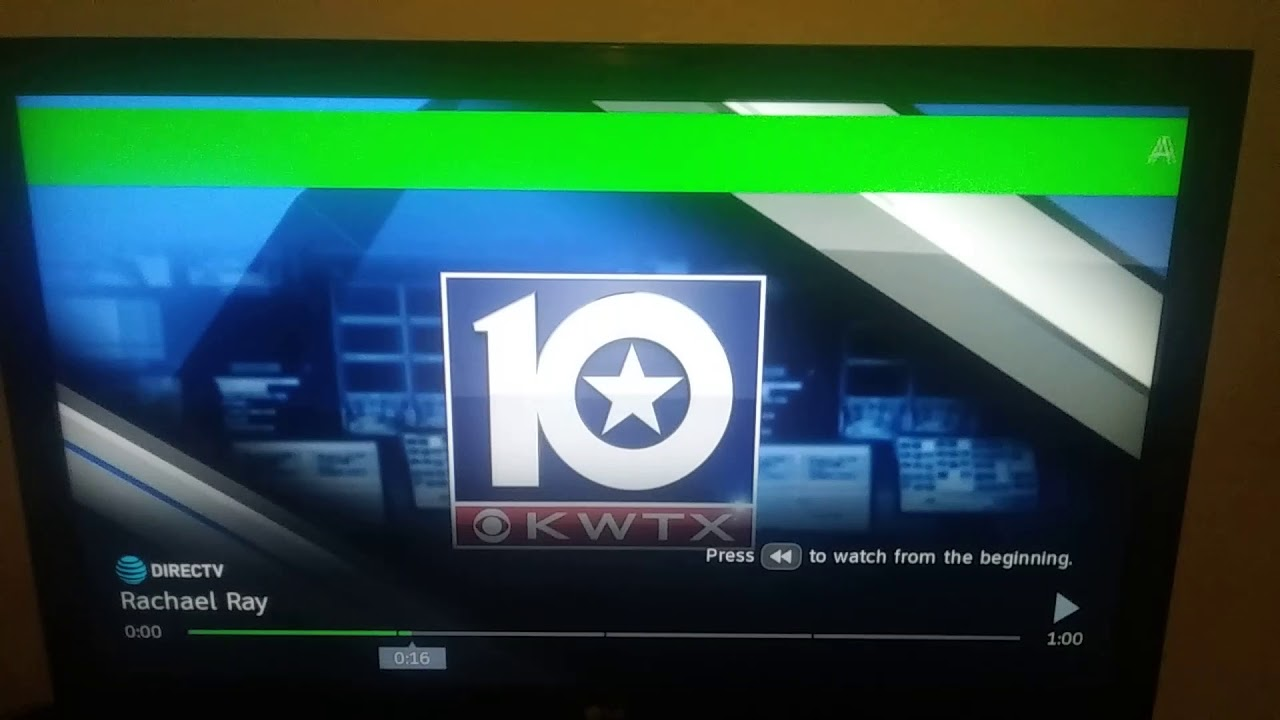 Required Weekly Test on KWTX-TV Channel 10 (7/13/18)