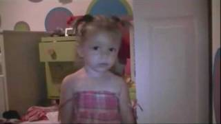 One Year Old Sings Justin Bieber - Baby