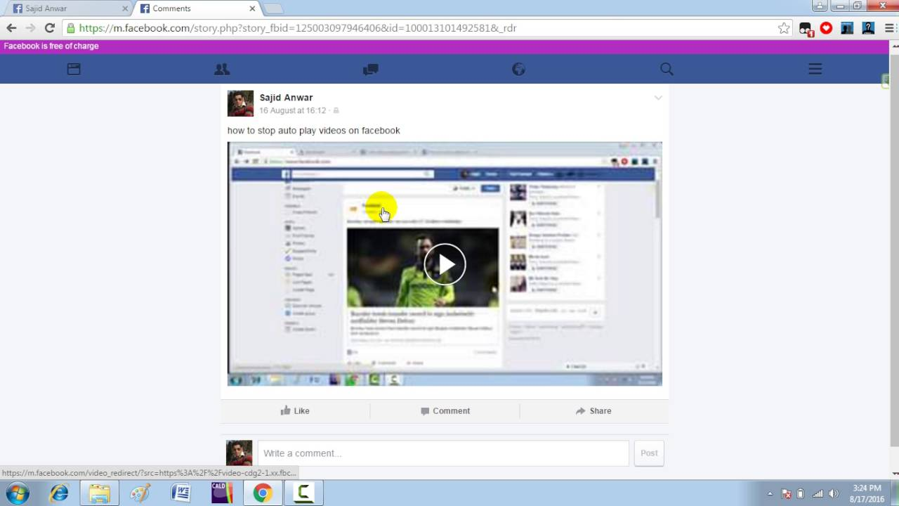how to download facebook videos in mobile without any software