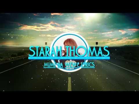 Starah Thomas mimi na wewe (official lyrics)