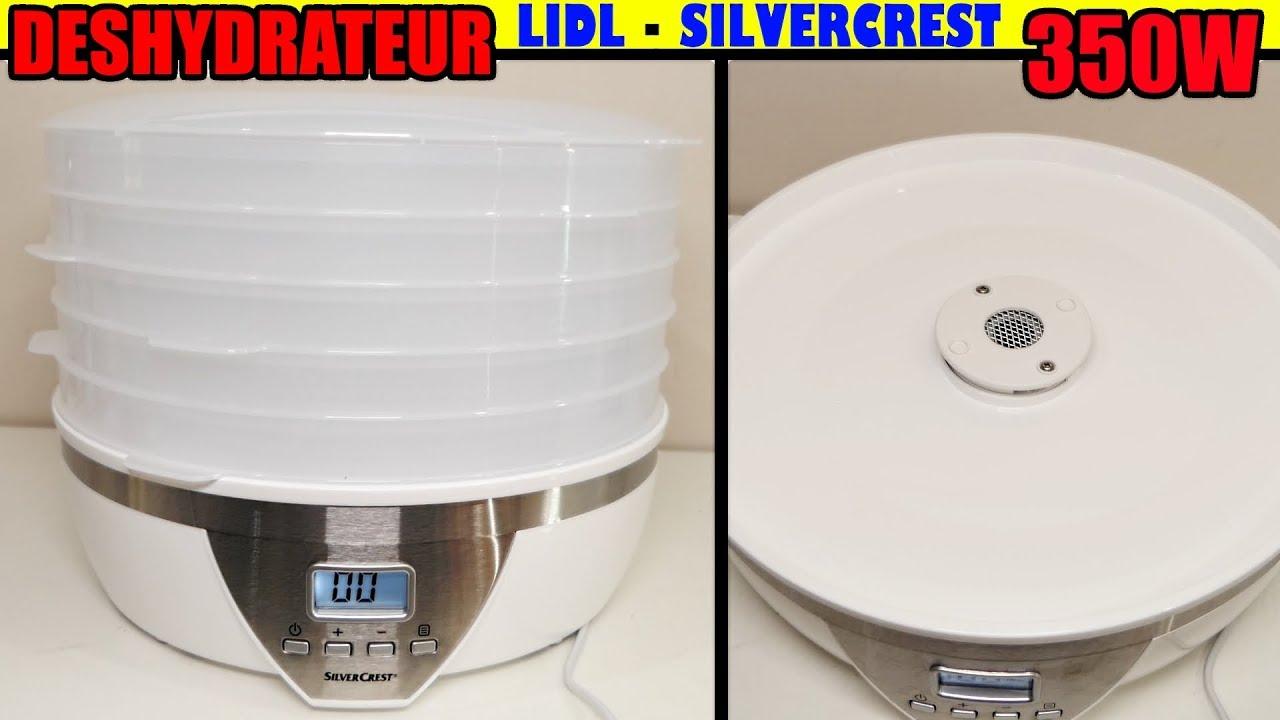 Deshydrateur Lidl Silvercrest Sda 350 A1 Déshydraté Alimentaire Food