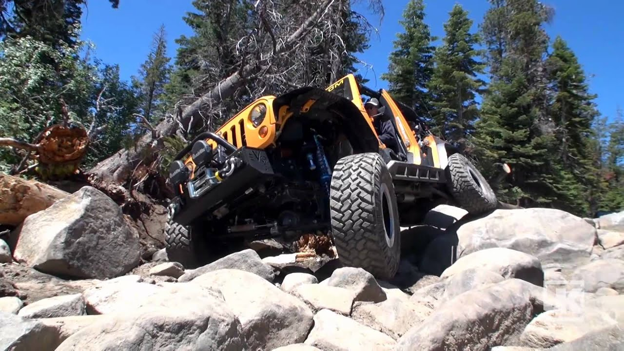 Rubicat On The Rubicon The Evo Mfg Bolt On Coil Over Kit In Action Youtube