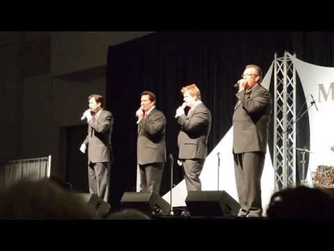 The Booth Brothers with Gene McDonald sing Good Old Gospel Singing