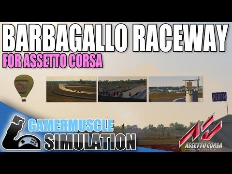 BARBAGALLO RACEWAY FOR ASSETTO CORSA - GamerMuscle Simulation