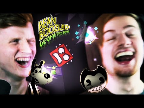 Bendy and the FNAF Machine DASH!! | Bean Boozle Challenge (Hilarious Ending!!)