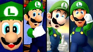 Super Mario Evolution of LUIGI WINS By Doing Absolutely NOTHING (N64 to Switch)