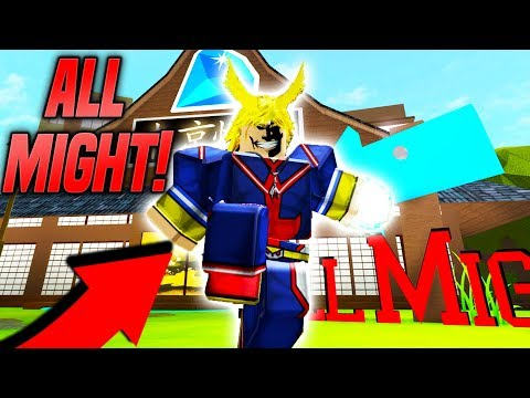 *NEW* BECOMING ALL MIGHT IN ANIME TYCOON SIMULATOR! (Roblox)