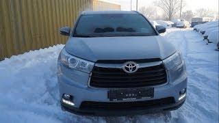 видео Обзор Toyota Highlander 2014 года