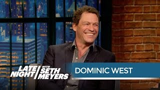 Dominic West Remembers Being in Spiceworld - Late Night with Seth Meyers