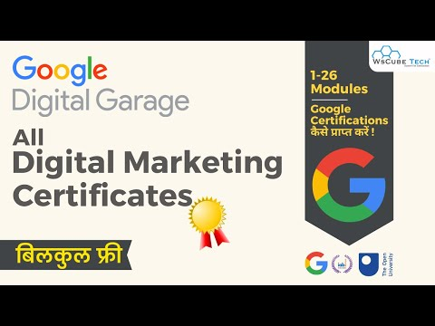 Free Certificate: All Digital Marketing Related Google Certificates - Latest Certificates