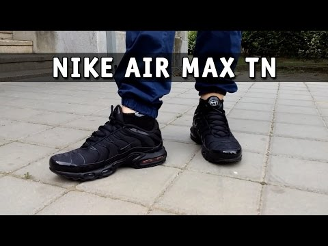 396e3236480 Nike Air Max Plus TN | Tuned 1 - Triple Black | Review and Unboxing