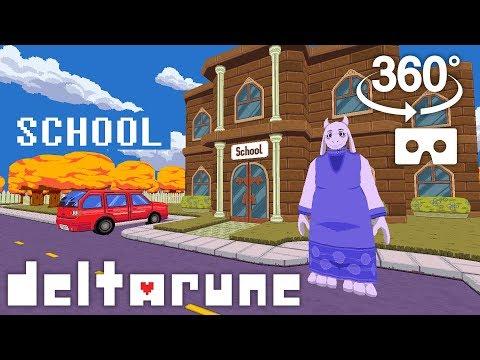 DELTARUNE VR 360 #4: School, Goodbye Toriel!