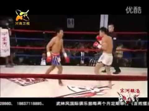 คลิป มวยไทยปะทะกังฟู เลิศศิลา ชุมแพทัวร์ vs หลี่หนิง หมวด กีฬา วันที่ 27 Aug 2012