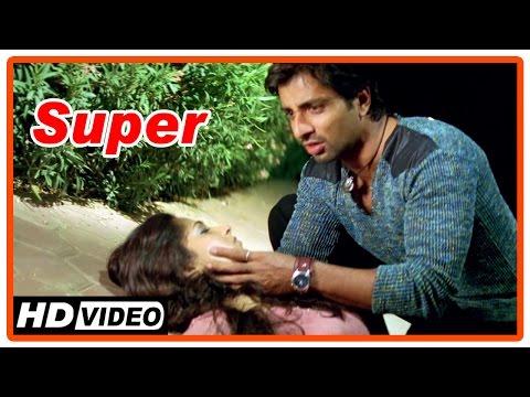 Super Tamil Movie | Scenes | Anushka found deceased | Sonu Sood blames Nagarjuna
