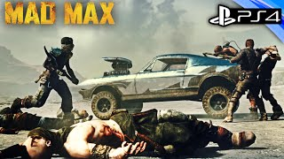 Mad Max: PS4 Gameplay - Open World Survival & Car Combat!!! - Walkthrough PART 4 1080p